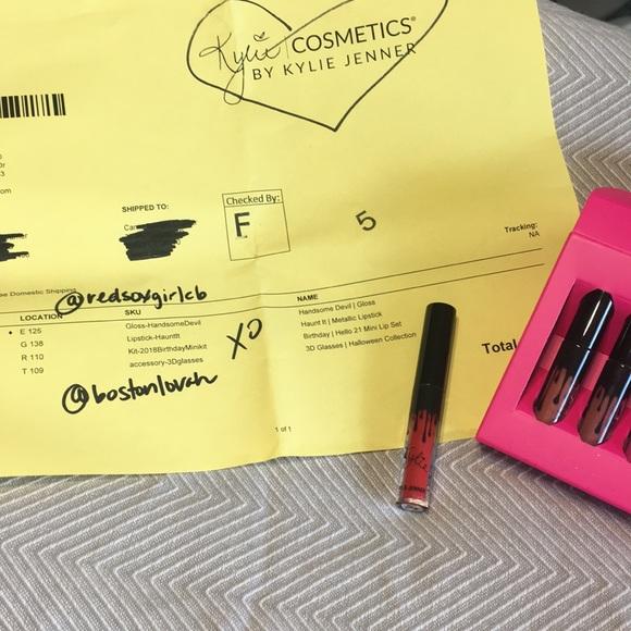 Kylie Cosmetics Other - Brand New Kylie Mini Liquid Lippie in Boss